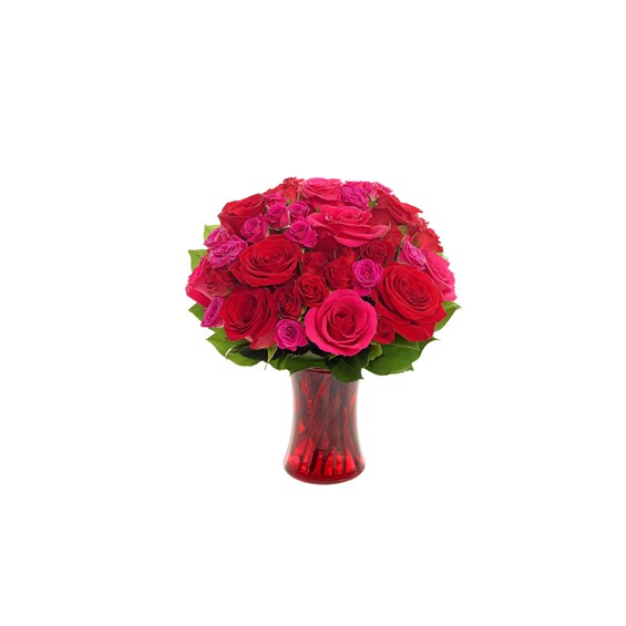 Radiant Red Romance Bouquet (BF502-11K)